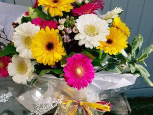 All gerbera bouquet, bright or pastel you choose? £30